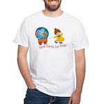 World For Kids White T-Shirt