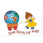World For Kids Postcards (Package of 8)