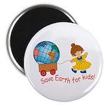 World For Kids Magnet