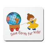 World For Kids Mousepad