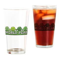 World Peas Pint Glass