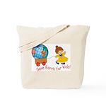 World For Kids Tote Bag