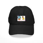 World For Kids Black Cap