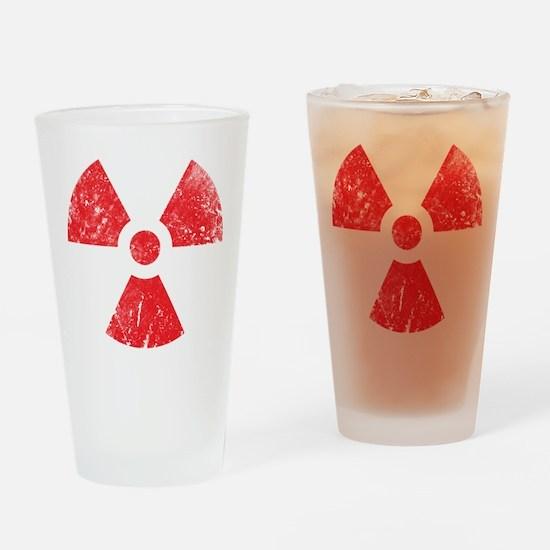 'Vintage' Radioactive Pint Glass