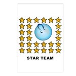 Star Team Postcards (Package of 8)