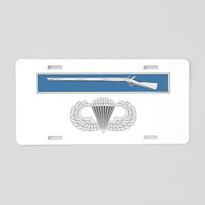 EIB Airborne Aluminum License Plate