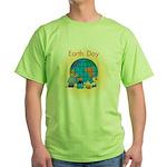 Family Globe Green T-Shirt