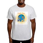 Family Globe Ash Grey T-Shirt