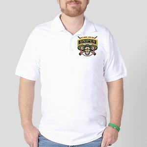 Sniper One Shot-One Kill Golf Shirt