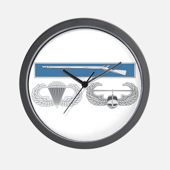 EIB Airborne Air Assault Wall Clock