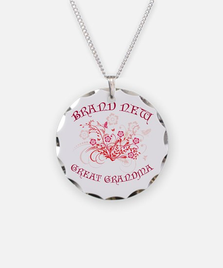 Floral Great Grandma Necklace