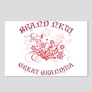 Floral Great Grandma Postcards (Package of 8)