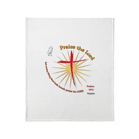 Praise the Lord Throw Blanket