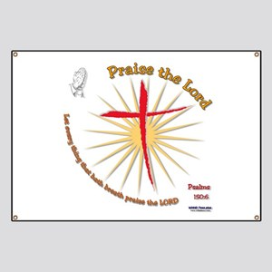 Praise the Lord Banner