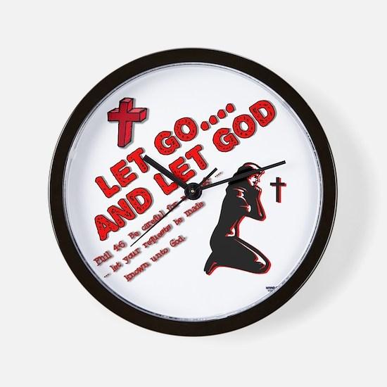 Let Go - Female Wall Clock