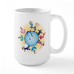 Dance The World Large Mug