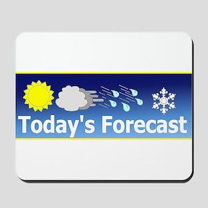 Mixed Forecast Mousepad