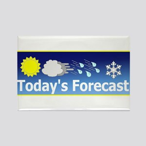 Mixed Forecast Rectangle Magnet