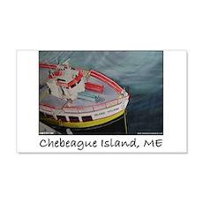 Chebeague Island Ferry 22x14 Wall Peel