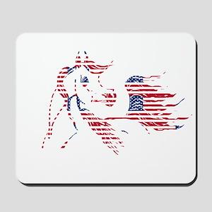 Patriotic Arabian Horse Mousepad