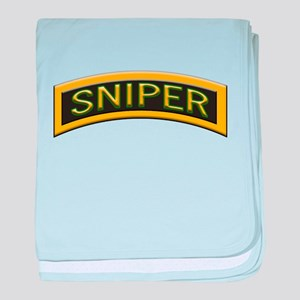 Sniper baby blanket