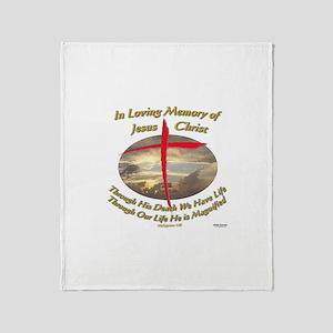 Phil 1:20 Throw Blanket