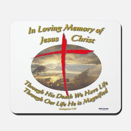 Phil 1:20 Mousepad