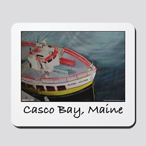 CASCO BAY LINES FERRY Mousepad