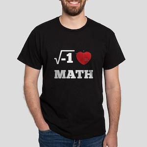 I Heart Math 2 Dark T-Shirt