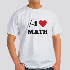 I Heart Math 1 Light T-Shirt