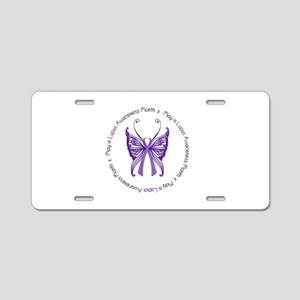 May is Lupus Awareness Month! Aluminum License Pla