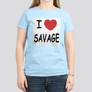 I heart savage Women's Light T-Shirt
