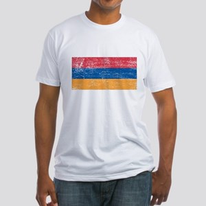 Armenia Flag Fitted T-Shirt