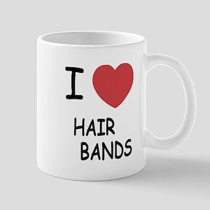 I heart hair bands Mug