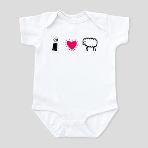 Eye Love Ewe Infant Creeper