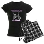 Chopper Bicycle Women's Dark Pajamas