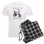 Chopper Bicycle Men's Light Pajamas