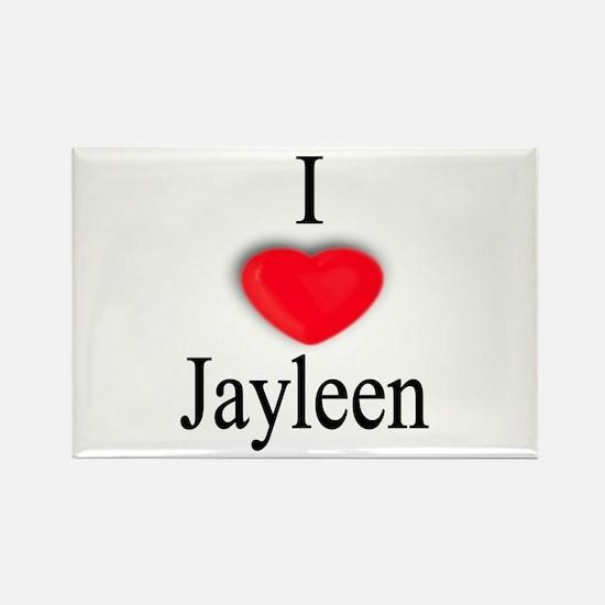 Jayleen Rectangle Magnet