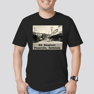 Old Hangtown Men's Fitted T-Shirt (dark)