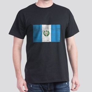 Guatamala Flag Dark T-Shirt