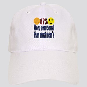 more emotional than most moms Cap