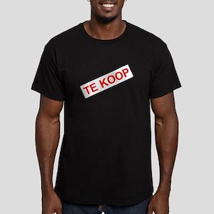 Te Koop men's fitted t-shirt