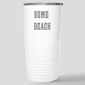 some beach Travel Mug