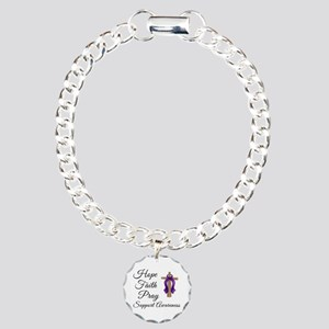 Support Awareness - Lupus Cro Charm Bracelet, One
