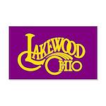 Lakewood Logo 22x14 Wall Peel