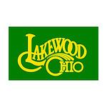 Lakewood Logo 38.5 x 24.5 Wall Peel