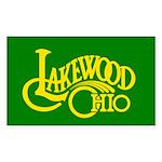 Lakewood Logo Sticker (Rectangle)