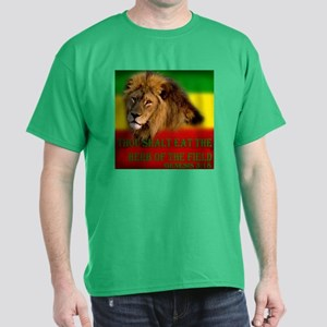 Rastafarian Lion Dark T-Shirt