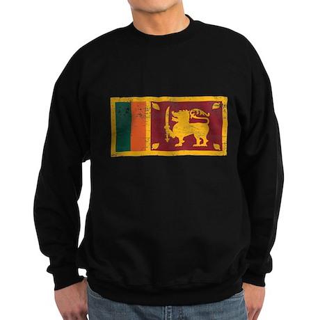 Sri Lanka Flag Sweatshirt (dark)