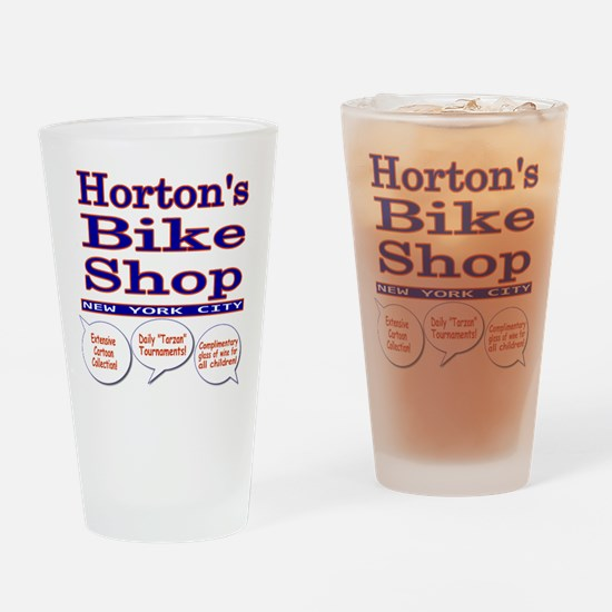 Horton's Bike Shop Pint Glass